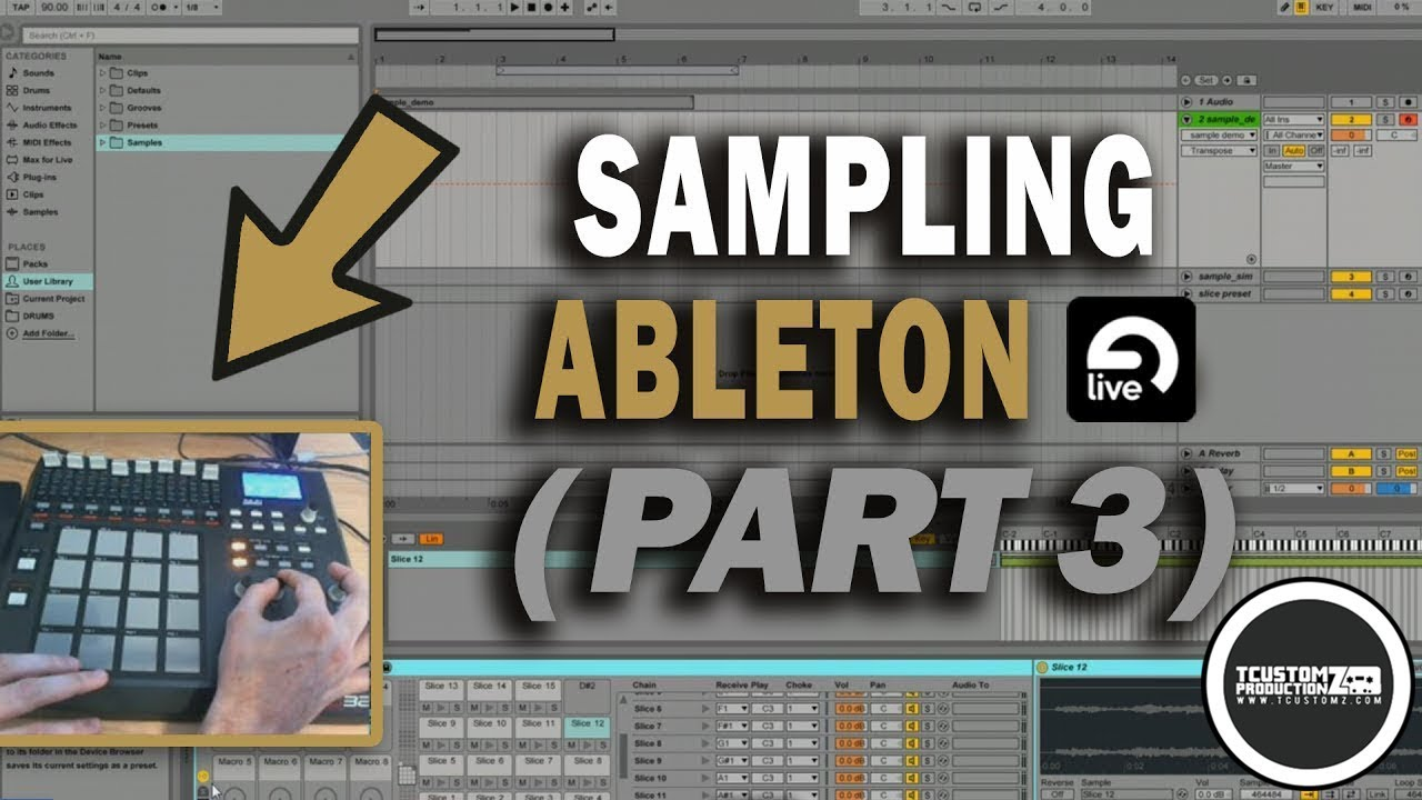 Ill. Gates – mpd32 – ableton dj template tutorial.