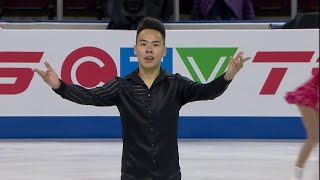 Нам Нгуен. Короткая программа. Мужчины. Skate Canada. Гран-при по фигурному катанию 2019/20