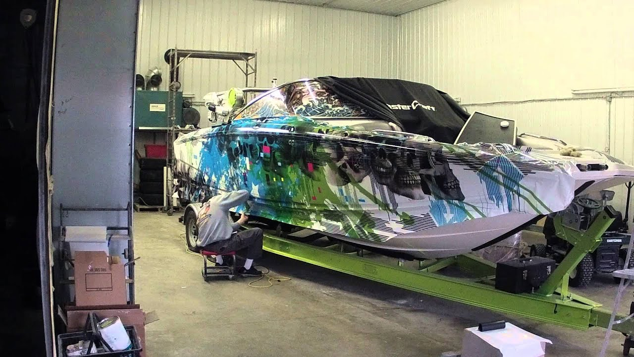 Nowak Boat Wraps Mastercraft X55 Youtube