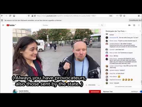 Polizei-Willkür & Antifa-Terror - im Gespräch mit Bloggerin Carolin Matthie - ( D., ENG. )