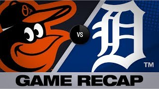 Alexander, Mercer lead Tigers past O's | Orioles-Tigers Game Highlights 9/16/19s