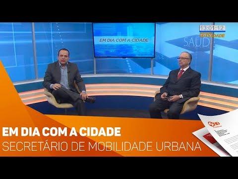 Em dia com a cidade: Secretário de mobilidade urbana de Sorocaba - TV SOROCABA/SBT