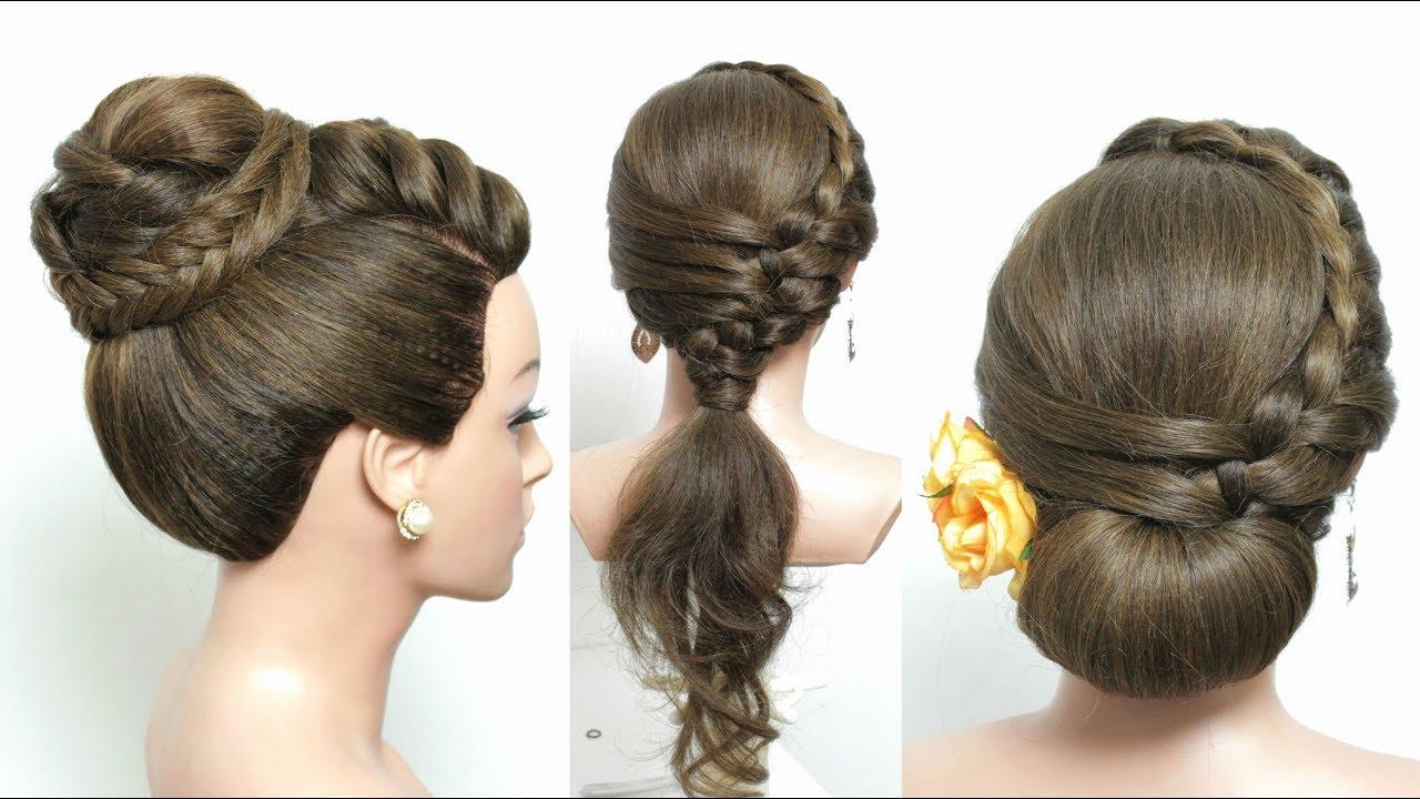 Heatless Hair Styles: 3 Simple Party Hairstyles For Long Hair Tutorial