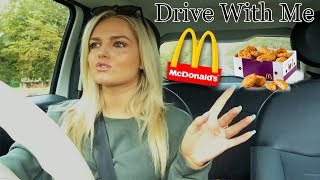 DRIVE WITH ME (MCDONALDS MUKBANG) + DRIVING TEST STORYTIME