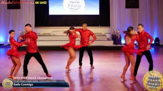 WSS16 Professional Small Team Open Salsa World Champions Baila Conmigo