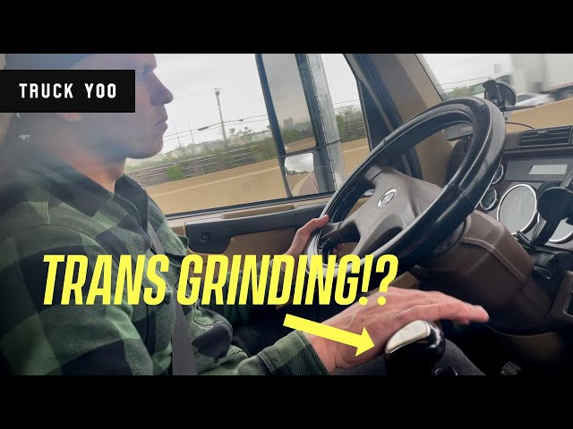 Semi Truck Transmission Grinding? Check this and Save Money