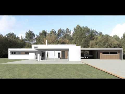 maison contemporaine brech 56 christophe le moing architecte lorient youtube. Black Bedroom Furniture Sets. Home Design Ideas