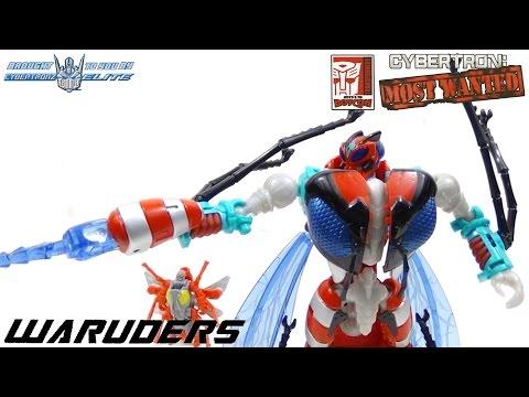 Botcon 2015 Transformers Souvenir Set #3 Waruders 4 Pack