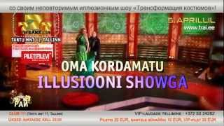 TANTSUPARADIIS 51 (Танцевальный Pай 51) - 5.aprillil 2013 klubis 777 - REKLAAM