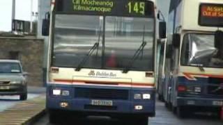 Dublin Bus Services seen in Bray, Co Wicklow