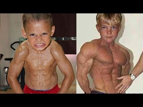 Top 5 Strongest Kids in the World | Kids With Muscles ...