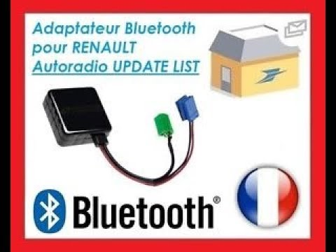 [Tuto] ajouter le Bluetooth sur un autoradio Renault Update list