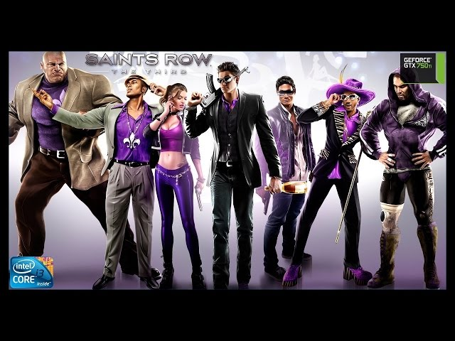 Saints Row The Third - I3 3250 + Gtx 750ti - Full Hd