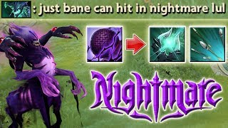 Max Speed Intelligence Steal with Nightmare [7.07 Bane Carry Ability Draft Build] Dota 2