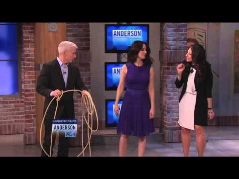 Madeleine Stowe's Lassoing Lesson