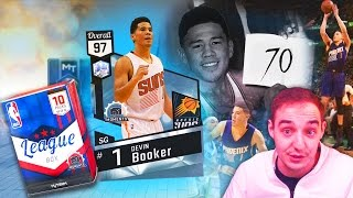 NBA 2K17 My Team DIAMOND DEVIN BOOKER! BEST MOMENTS CARD IN THE GAME FOR SCORING 70 POINTS!
