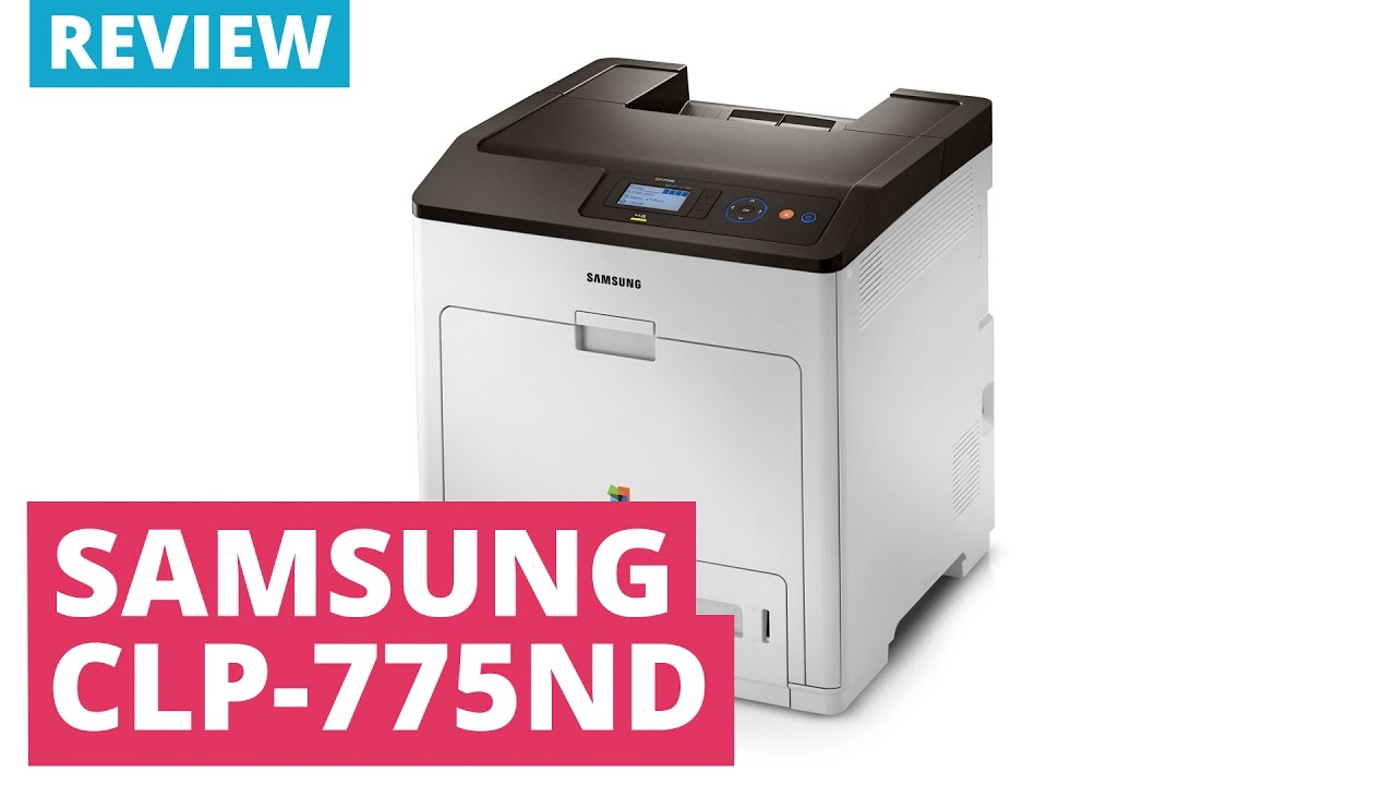 SAMSUNG CLP-775ND PRINTER (ADD PRINTER) DRIVER (2019)