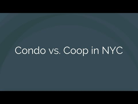 Coop vs Condo NYC - What's the Difference Between Coops and Condos in New York City?