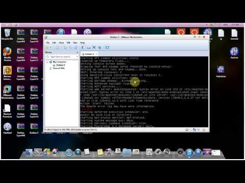 Debian 5 Error.