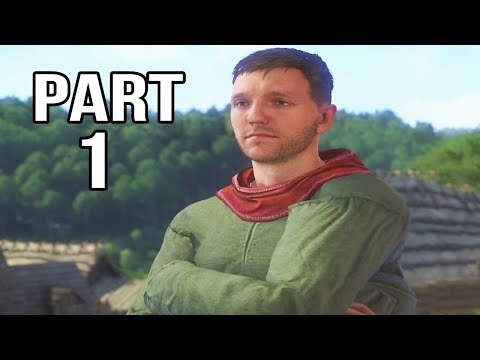 Kingdom Come Deliverance Gameplay Walkthrough Part 1 - Henry Lad