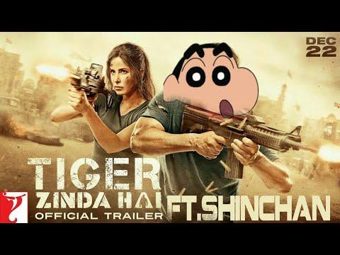 Tiger Zinda Hai - ft.ShinChan | Tiger...