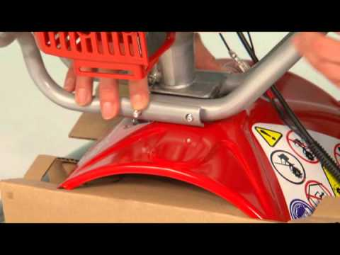 Mantis® Deluxe 2-Cycle, Deluxe 4-Cycle Tiller - How To Assemble