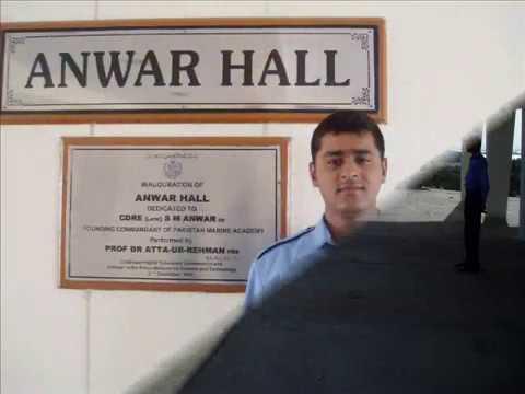 Muhammad Ahsan Khan Merchant  Navy Training video Pakistan Marine Academy