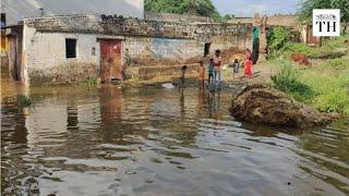 Villages submerged as Sardar Sarovar dam level rises