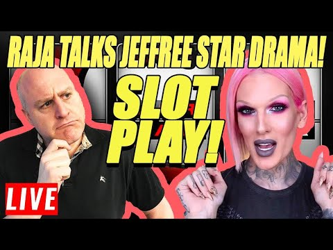 Raja Talks His Thoughts About Jeffree Star 😍 During Surprise Sunday Slot Play 🎰 - 동영상