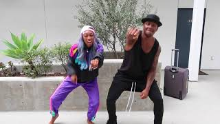 DANCE OFF CHALLENGE- LOSER DANCES TO BARNEY