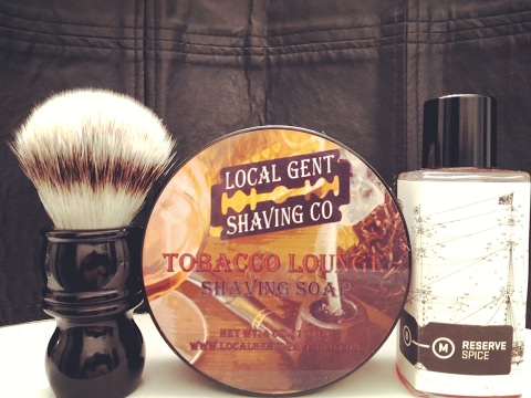 SOTD: Local Gent Shaving Co - Tobacco Lounge