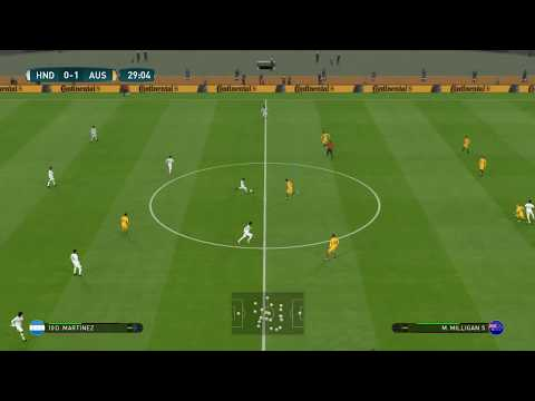 Honduras vs Australia Full Match | FIFA World Cup 2018 Final butt match | Gameplay