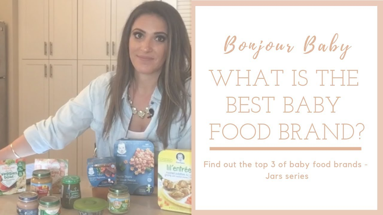 How to choose the best baby food? Jar foods review