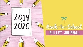 PLAN WITH ME - Back-to-School Bullet Journal Setup + GIVEAWAY [CLOSED] | Stationery Island