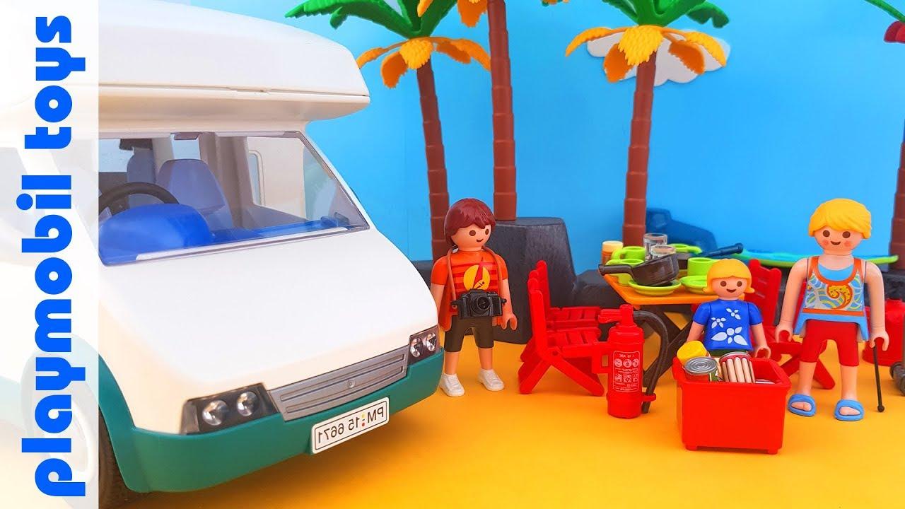 Playmobil 6671 Summer Fun Summer Camper