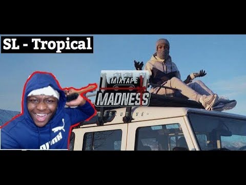 BEST 15 YEAR OLD RAPPER !! SL - Tropical (Music Video) | @MixtapeMadness - REACTION