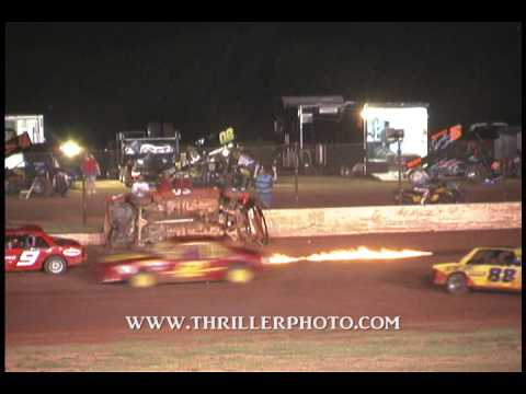 Lawton Speedway Highlights from 6-20-09