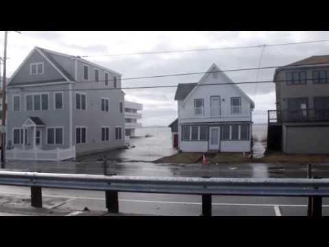 Winter Storm Riley 3- 3-18 Hampton Beach , NH