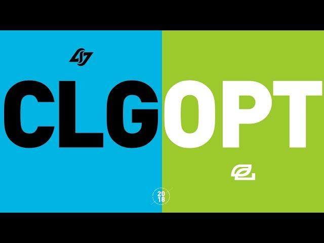 CLG vs. OPT - NA LCS Week 6 Match Highlights (Summer 2018)