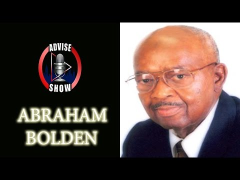 Abraham Bolden Speaks On Being The First Black U.S. Secret Service Agent & Kennedy Conspiracy