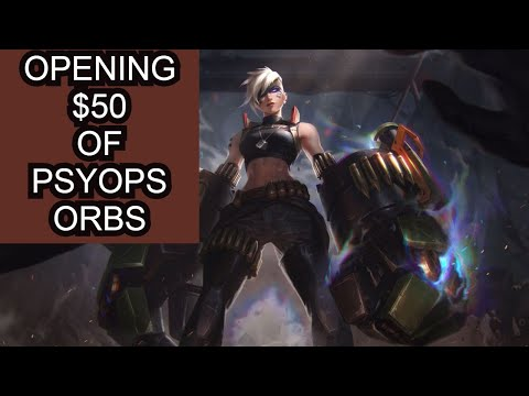 I SPENT $50 ON PSYOPS ORBS JUST TO SEE WHAT I WOULD GET! (PsyOps Orb Opening)