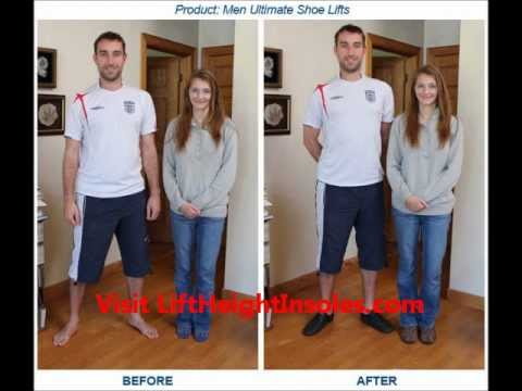Do Shoe Lifts Work? Height Increase Product Review - YouTube