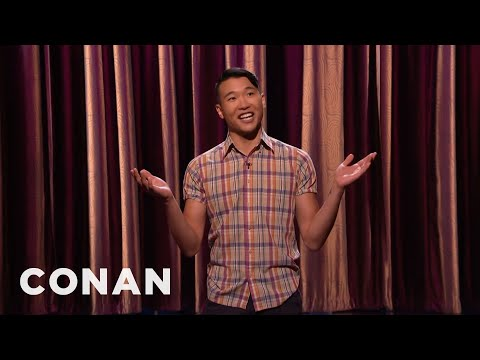 Joel Kim Booster Stand-Up 06/22/16 - CONAN on TBS - YouTube
