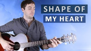 Shape of My Heart by Sting (Guitar Lesson) Video
