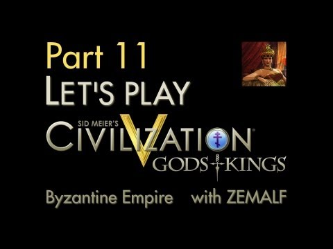 Let's Play Civ 5 G&K - Part 11 - Byzantine Empire, 1300-1500