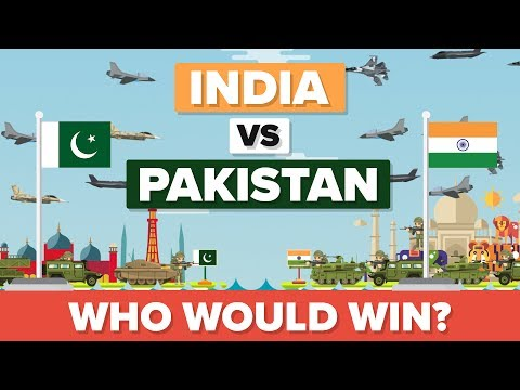 India vs Pakistan 2017 - Military / Army Comparison