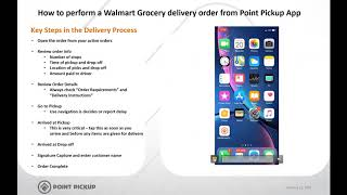 How to do a Walmart Grocery order with Point Pickup