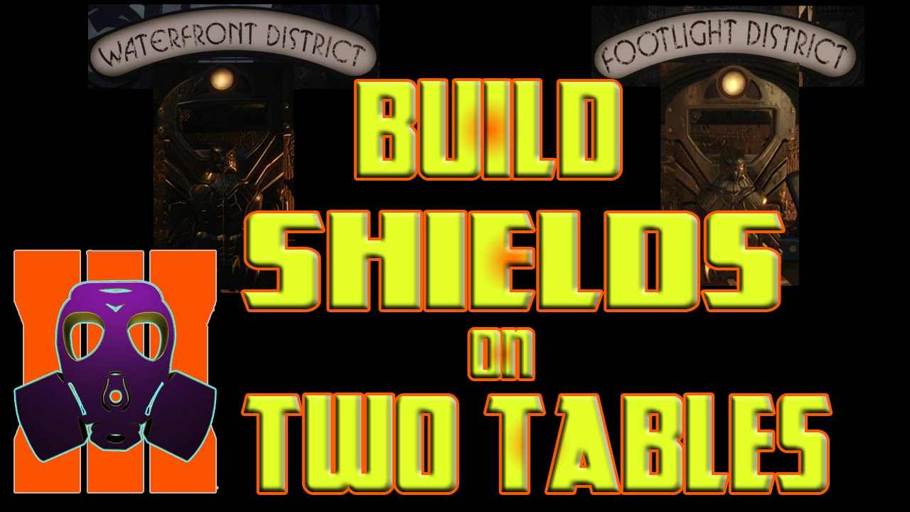 Bo3 Build Shields On 2 Crafting Tables Shadows Of Evil Youtube