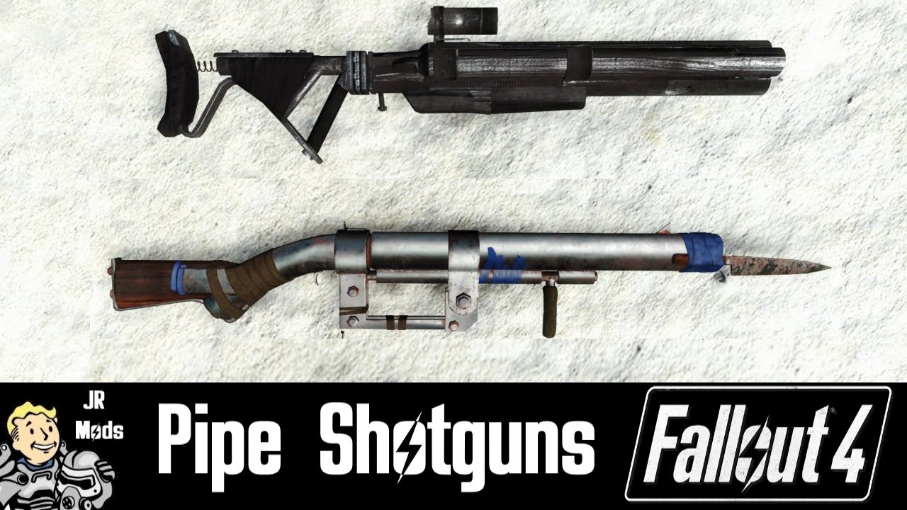Fallout 4 Mod Showcase: Standalone Pipe Shotguns