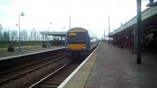 Class 170 departs Ely